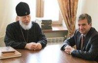 Митрополит Владимир пообщался с Зурабовым