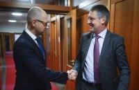 Яценюк в Берлине встретился с госсекретарем МИД Германии