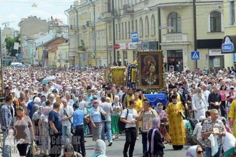 Парубий: крестный ход на Киев организован Кремлем для дестабилизации