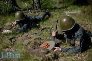 Спасатели обезвредили 216 единиц боеприпасов в зоне АТО
