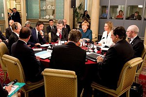 Порошенко, Путин и лидеры ЕС встретились в Милане