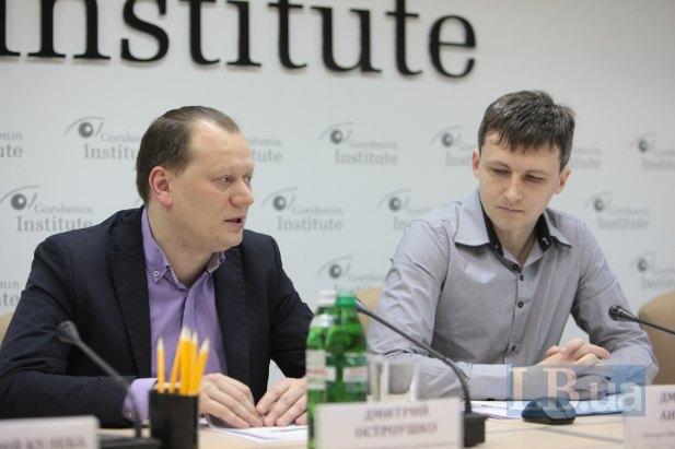 Дмитрий Остроушко(слева)