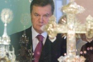 Янукович запретил церковникам агитировать