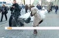 """Милиция объявила в розыск """"снежных террористов"""", атаковавших членов ПР"""