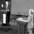 О чем спорили Трамп и Клинтон