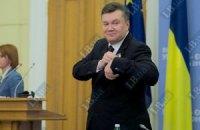 """Янукович - журналисту: """"Я вам не завидую"""""""