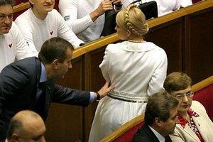 Тимошенко отрицает встречу с Клюевым
