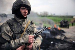 В бою возле Мариновки силовики уничтожили 3 танка и 2 БТР боевиков, - Тымчук