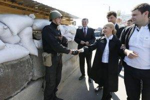 Тимошенко сообщила о 10 тысячах добровольцев в движении сопротивления