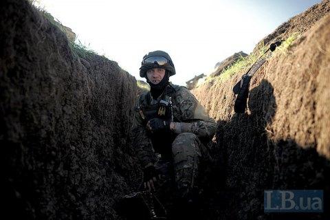 Террористы атаковали бойцов АТО вЗайцево из нелегального оружия