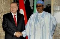 Эрдоган заявил о готовности Турции бороться с терроризмом в Нигерии