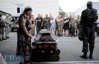 За сутки в АТО погибли 11 военных, 51 ранен (обновлено)