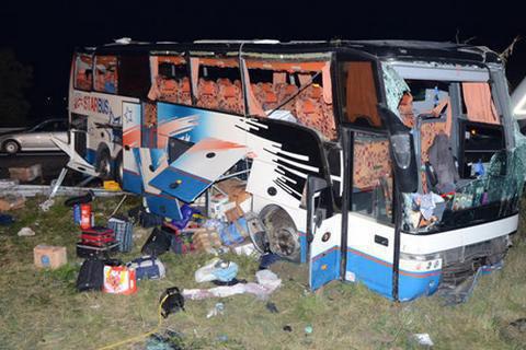 УАвстрії перекинувся автобус зукраїнськими туристами