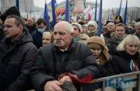 """Украинцы выйдут на """"третий Майдан"""", если власть не выполнит обещаний, - опрос"""