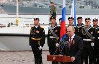 Путин приехал в Крым праздновать День Победы (добавлены фото)