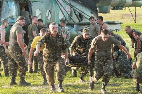 За время АТО погибли 35 военных медиков