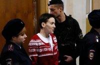 Савченко пригрозила возобновить голодовку