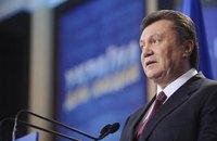 Рейтинг Януковича снизился почти вдвое