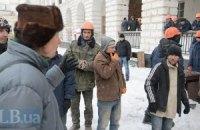 Застройщик снова пытается выгнать активистов из Гостиного двора