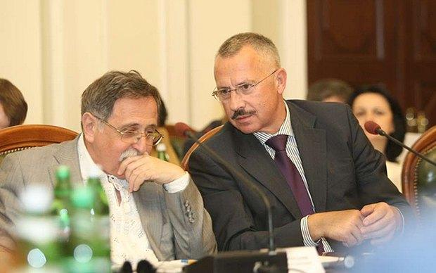 Юрій Ключковський(ліворуч) та Сергій Головатий