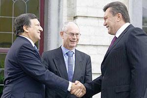 Янукович сегодня встретится с президентом Еврокомиссии