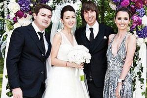 Дети Ющенко сходили на свадьбу к основателю Партии регионов