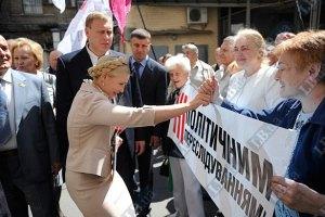 Тимошенко досрочно покинула заседание суда