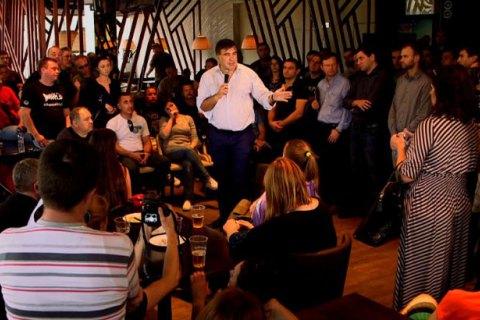 Саакашвили встретился с Автомайданом и Самообороной в Одессе