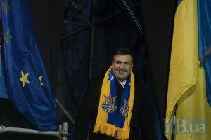 Саакашвили: место в вертикали