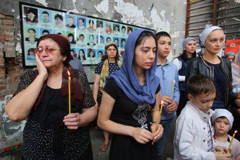 ВБеслане задержали матерей школьников, погибших втеракте в 2004-ом