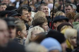 Украинцы недовольны властью, но ситуация еще не критическая - опрос