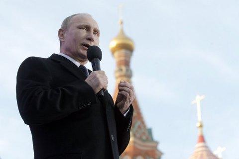 Россияне просят поскорее причислить Путина к лику святых