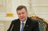 Янукович сегодня уезжает в Крым