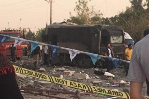 От 2-х взрывов вТурции пострадали как минимум 50 человек