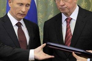 """Азаров направил """"газовое"""" письмо Путину еще в четверг"""
