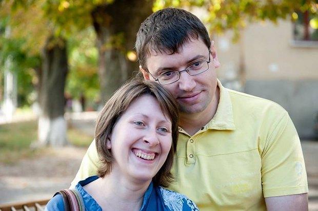 Александр с женой