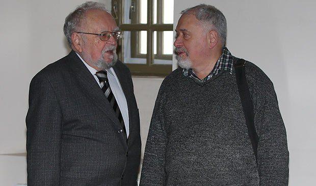 Мирослав Попович и Семен Глузман
