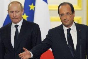 Путин и Олланд пришли к выводу, что место Тимошенко не в тюрьме