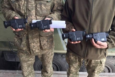 Волонтеры собрали 840 тыс. грн на оптику для 54 бригады, но денег все равно не хватает