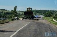 В Донецкой области восстановили мост через реку Кальмиус