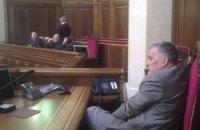 Опозиціонери знову ночуватимуть в парламенті