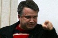 """Лидеров """"Свободы"""" везут в отделение милиции"""