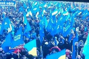 Провокаторов для Майдана и митинга ПР вербовали среди бомжей на вокзале