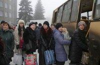 В Дебальцево продолжается эвакуация мирного населения
