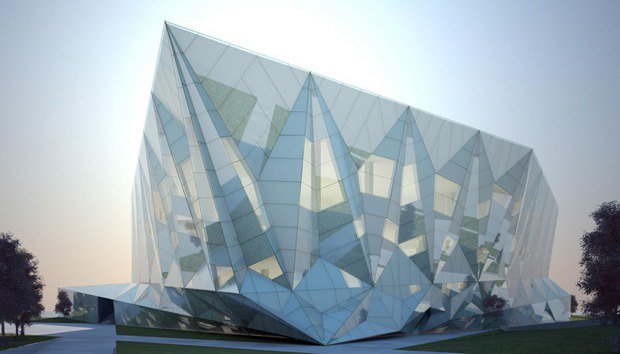 Проект библиотеки в Датонге, Китай