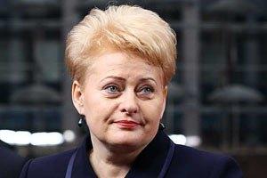 Президент Литви: Тимошенко в доброму стані