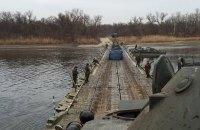 Россия навела пять переправ через Северский Донец на границе с Украиной