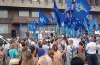Запорожские «Регионалы» превратили Покров в предвыборную акцию