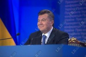Янукович будет встречать Новый год в Украине