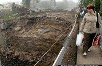 Через підготовку до Євро-2012 на Київщині завалився міст